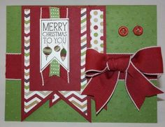 Stampin' Up! - Perfectly You Christmas Card