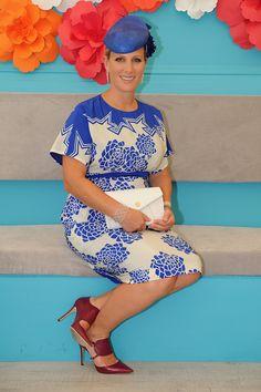 Zara Phillips at the Magic Millions Race Day