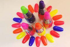 Make, Coisa e Tal - Notícia: COLEÇÃO ATITUDE NEON | IMPALA #esmalte #unhas #neon #fluor #fluorescente #colorido #cores #color #Impala #nail #beleza #mulher