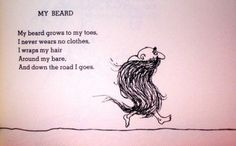 Seriously one of my favorite poems!! Even recited it in 6th grade for a poetry assignment. Love it. Shel Silverstein