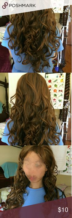 Brown wig Brand New brown wig for sale Accessories Hair Accessories