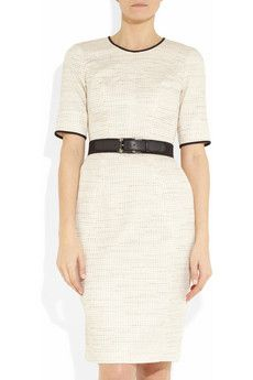 JASON WU--Belted tweed shift dress