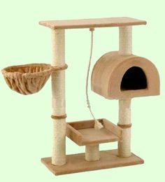 GoPetClub F16 Cat Tree Toy House Condo Pet Furniture