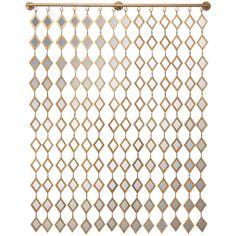 Diamond Curtain Wall Décor