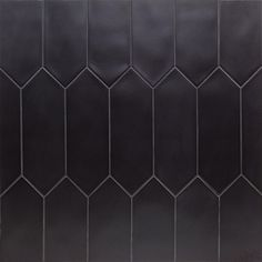 Hill Tile Russell Black 4 in. x 12 in. 10 mm Matte Porcelain Subway Floor and Wall Tile pieces sq. / - The Home Depot -Ivy Hill Tile Russell Black 4 in. x 12 in. 10 mm Matte Porcelain Subway Floor and Wall Tile pieces sq. / - The Home Depot - Black Backsplash, Splashback Tiles, Backsplash Ideas, Kitchen Backsplash, Subway Backsplash, Subway Tiles, Kitchen Floor, Room Tiles, Wall Tiles