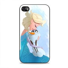 Elsa And Olaf iPhone 4, 4s Case