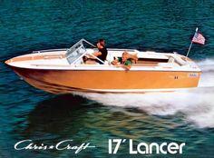 Chris craft lancer 17