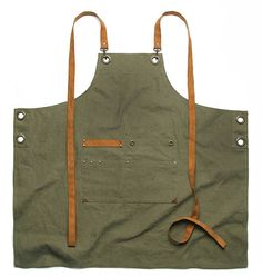 Premium Gift for woman and man Chef Works Handmade Apron Coffee Shop Photography, Zipper Parts, Shop Apron, Cool Aprons, Leather Apron, Apron Designs, Diy Sewing Projects, Love Sewing, Canvas Leather