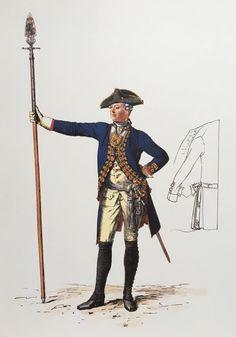 Plate 234. Regiment No. 19.                  (1806 Prinz von Oranien.)                   Offizier