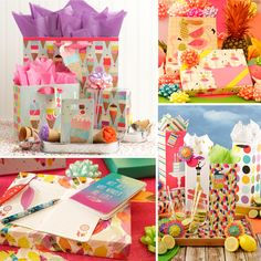 Wrap up some fun in the sun! Let The Gift Wrap Company be your one-stop shop for sunsational summer gift wrap and wrapping accessories. From colorful gift bags to funtastic stationery, they offer a complete selection of products to celebrate the sunny season! (Sponsored) giftwrapcompany.com