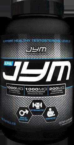 JYM ALPHA (180 CAPSULES) test testosterone booster fenugreek jim stoppani gym #JYMSupplementScience