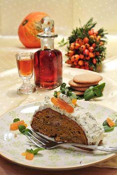 Blogparade-Beitrag: Kürbis-Ingwer-Kuchen mit Minzobers - SPICEblog Der Blog rund um Kochen und Küche Wilde, Meatloaf, Blog, Round Round, Cake, Food Food, Meat Loaf, Blogging