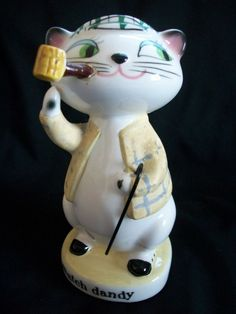 VTG 1959 HOLT HOWARD COZY KITTEN CAT MATCH DANDY HOLDER