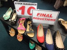 ALL SHOES €10. Final Reduction! Stock Clearance, Chanel Ballet Flats, Flip Flops, Lady, Boots, Fashion, Crotch Boots, Moda, Fashion Styles