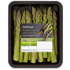 Asparagus Tips Waitrose ($3.04) ❤ liked on Polyvore featuring food, fillers, food and drink and food & drink