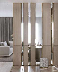 divisorio Astonishing partition design ideas for living room 38 Luxury Home Decor, Luxury Interior Design, Home Interior, Modern Interior, Living Room Partition, Room Partition Designs, Screen Design, Wall Design, Living Room Modern