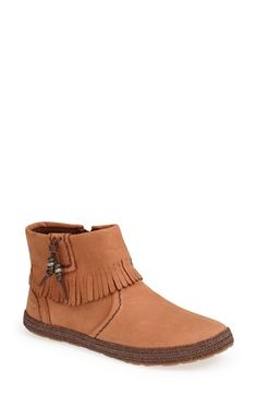UGG® Australia 'Tiana' Fringe Bootie (Women) available at #Nordstrom