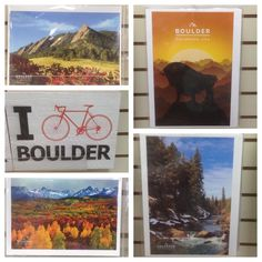 Take a piece of Boulder with you wherever you go! #prints #notecards #postcards #WallArt #WallHanging #scenery #landscapes #Boulder #Colorado #mementos #souvenirs #travel #tourism #GoPlaces #IBikeBoulder #biking #bicycle #cyclists #Flatirons #buffalo #gorgeous #colorful #eyecatching #affordable #LowPrices #beautiful #ColorfulColorado