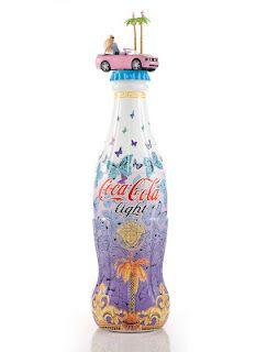 Coca-Cola light défile à Milan