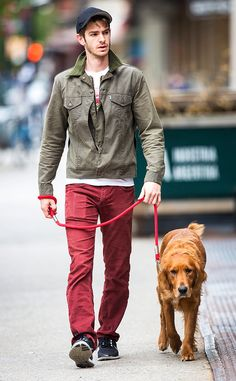 Imaginary Boyfriend time: Andrew Garfield walks his dog in NYC. It's the dog. Y'all can fight over Andrew. Best Friend Boyfriend Quotes, Andrew Garfield Spiderman, Baby Spiderman, Amazing Spiderman, Emma Stone Andrew Garfield, Albus Severus Potter, Phoebe Waller Bridge, Imaginary Boyfriend, Jim Moriarty