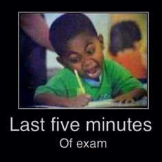 Haha so true...I was always the last one in the classroom....