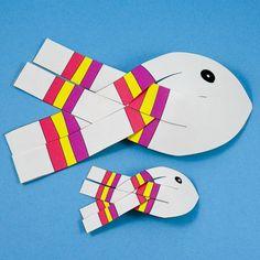 3D Paper Fish