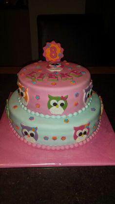 Uiltjestaart / owl cake