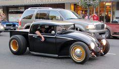 billetproof 394/Kustom Bug Pickup by bballchico, via Flickr VW Volkswagen