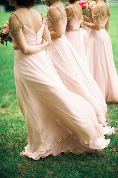 Photography : Three Nails Photography | Bridesmaids Dresses : Sherri Hill | Floral Design : Amanda Jerkins Design Read More on SMP: http://www.stylemepretty.com/2015/10/22/exclusive-john-luke-and-mary-kates-duck-dynasty-wedding/