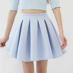 pleated skirt| $17.72  kawaii pastel gyaru hipster vintage fachin skirt bottoms pleated under20 under30 rosewholesale