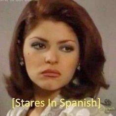 stares in spanish