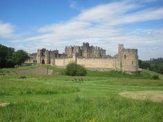 Alnwick Castle in England