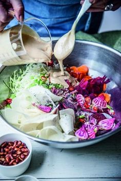 Go raw with your slaw.