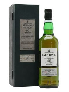 Laphroaig 40 Year Old Scotch Whisky : The Whisky Exchange #whiskydrinks