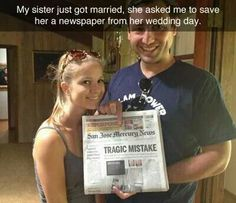 Tragic mistake!