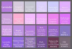 Nordljus May 2017 Purple Color Names Love Periwinkle Colour Pallette