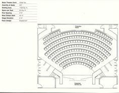 How to Design Theater Seating, Shown Through 21 Detailed Example Layouts | ArchDaily