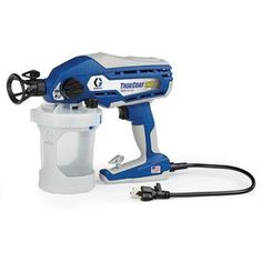 Graco TrueCoat II Electric Handheld Airless Paint Sprayer at Lowe's. To put the finishing touches on your painting project, choose this Graco electric handheld airless paint sprayer from the TrueCoat II series. This sprayer Home Improvement Projects, Home Projects, Outdoor Projects, Outdoor Ideas, Home Depot, Best Paint Sprayer, Hvlp Sprayer, Painted Bags, Thing 1