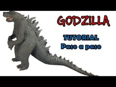 Como hacer a Godzilla de plastilina / How to make a Godzilla with clay - YouTube