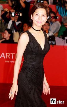 2015 Busan International Film Festival's opening red carpet.  Yes, Kim Ho Jung.