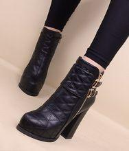 new product 2e3f1 f3da3 Moda otoño mujeres de los zapatos solos cargadores de primavera y otoño  invierno zapatos de tacón