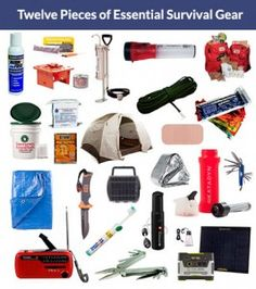 12 Pieces of Essential Survival Gear