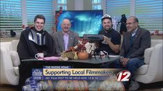 Supporting local filmakers with Nick, Ron and Adam. @therhodeshow