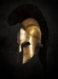 This is a more simple design of the greek warrior helmet. Spartan Logo, Spartan Tattoo, Warrior Helmet, Spartan Helmet, Spartan Total Warrior, Helmet Drawing, Inspiration Drawing, Gladiator Helmet, Warrior Drawing