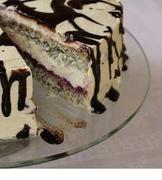Domogród: Ciasto makowe pychota z kremem budyniowym