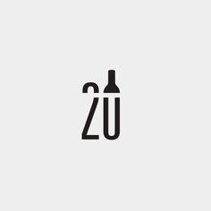Unique Logo, Cool Logo, Logo Inspiration, Typographie Logo, Type Logo, Bar A Vin, Food Graphic Design, Bar Logo, Logo Creation