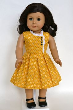 WWII Era 1950's American Girl 18 Inch Doll by JennyWrensDressShop