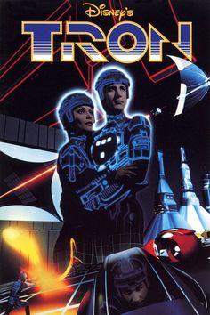 TRON Poster de la película - años 80