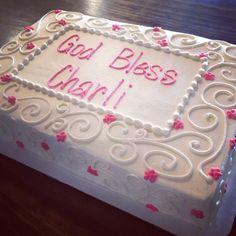 Baptism cake  Cami's Cake Co. in Eudora, KS  www.facebook.com/camiscakeco