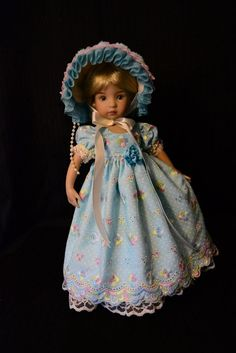 """SOLD """"Broderie Anglaise""""Regency Dress,Clothes,Outfit for 13""""Little Darling -Lumi #ClothingAccessories"""